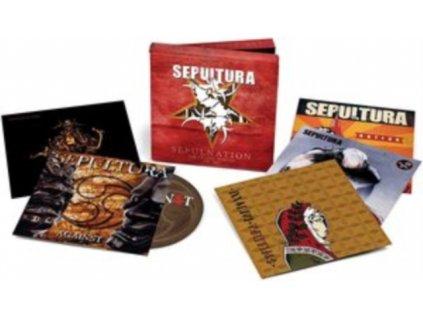 SEPULTURA - Sepulnation - The Studio Albums 1998-2009 (CD)