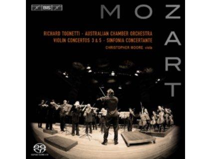 TOGNETTIMOOREAUSTRALIAN CO - Mozartviolin Concertos (SACD)