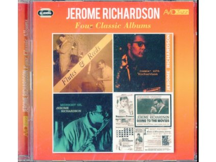 JEROME RICHARDSON - Four Classic Albums (Flutes & Reeds / Roamin With Richardson / Midnight Oil / Going To The Movies) (CD)