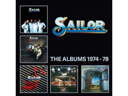 SAILOR - The Albums 1974-78 (CD)