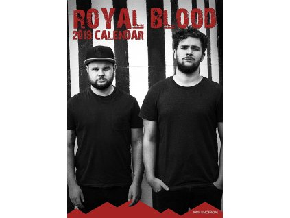 royal blood a3 calendar 2019