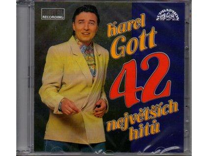 karel gott 42 největších hitů 2 cd