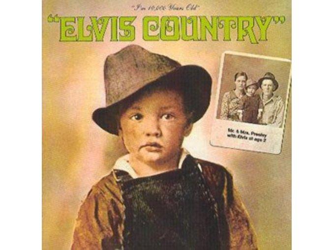 Elvis Presley - I'm 10 000 Years Old  Elvis Country  (Music CD)