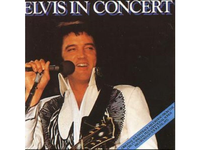 Elvis Presley - Elvis In Concert (Music CD)