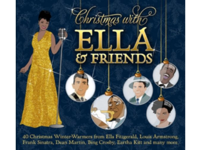 Various Artists - Christmas with Ella and Friends (Music CD)