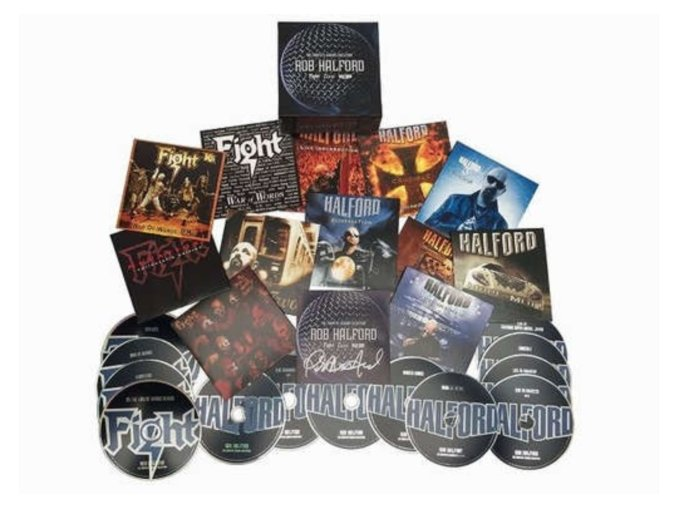 Rob Halford - Complete Albums Collection (Music CD)