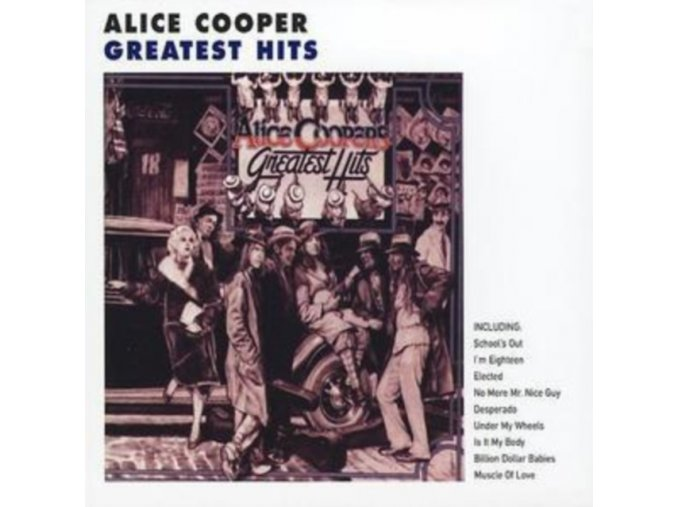 Alice Cooper - Alice Coopers Greatest Hits (Music CD)