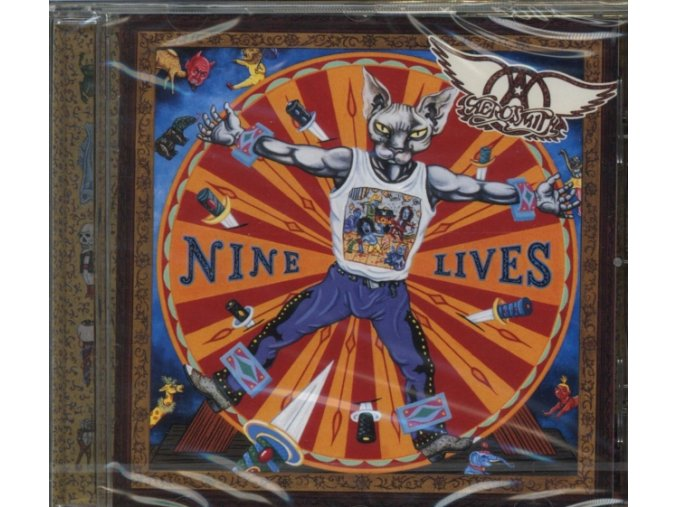 Aerosmith - Nine Lives (Music CD)