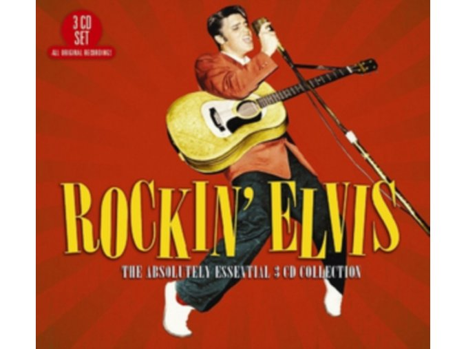 Elvis Presley - Rockin' Elvis (The Absolutely Essential 3 CD Collection) (Music CD)