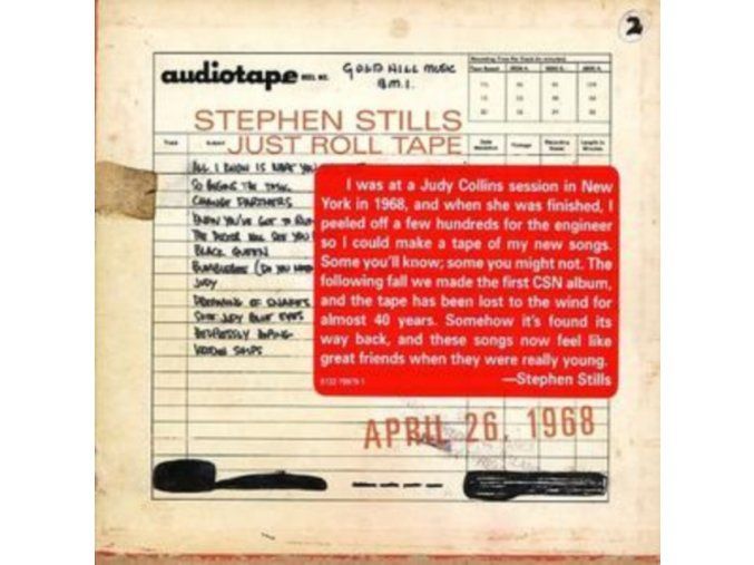 Stephen Stills - Just Roll Tape: 26 Apr 1968/Studio Demos (Music CD)