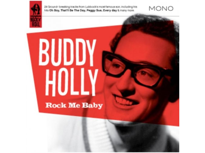 Buddy Holly - Rock Me Baby (Music CD)