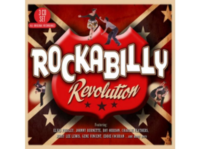 Various Artists - Rockabilly Revolution (The Absolutely Essential 3 CD Collection) (Music CD)