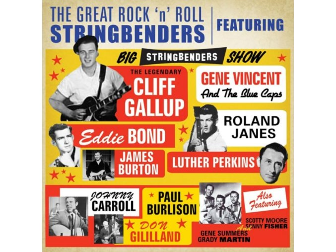 Cliff Gallup - Great Rock'n'roll Stringbenders (Music CD)