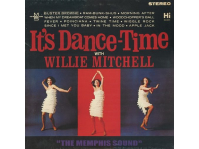 Willie Mitchell - It's Dance-Time (Music CD)