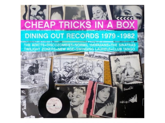 Various Artists - Cheap Tricks In A Box (Dining Out Records 1979-1982) (Music CD)
