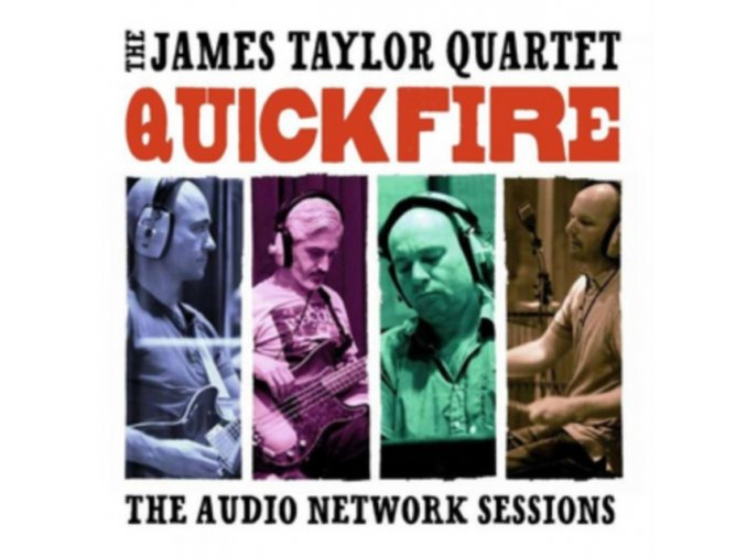 The James Taylor Quartet - Quick Fire: The Audio Network Sessions (Music CD)