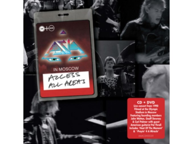 Asia - Access All Areas (+2DVD) (Music CD)
