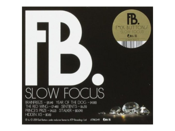 Fuck Buttons - Slow Focus (Music CD)