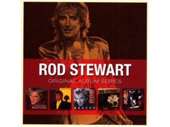 Rod Stewart - Original Album Series (5 CD Box Set) (Music CD)