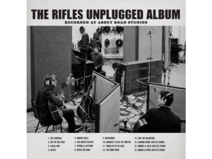 Rifles (The) - Riffles Unplugged Album (Recorded at Abbey Road Studios) (Music CD)