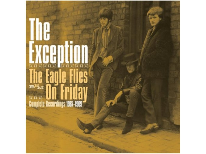 The Exception - The Eagle Flies On Friday - Complete Recordings 1967-1969 (Music CD)
