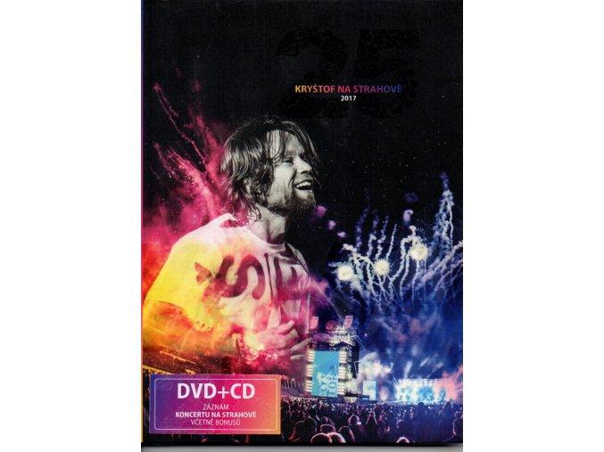 kryštof na strahově 2017 dvd + cd