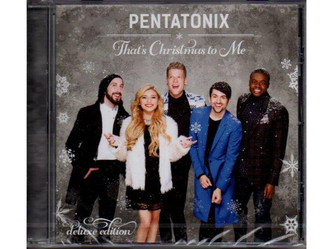 cd pentatonix thats christmas to me deluxe edition