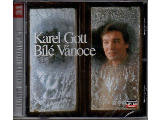 karel gott bílé vánoce cd