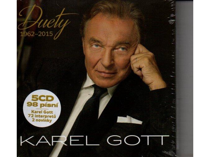 karel gott duety 1962 2015 5 cd