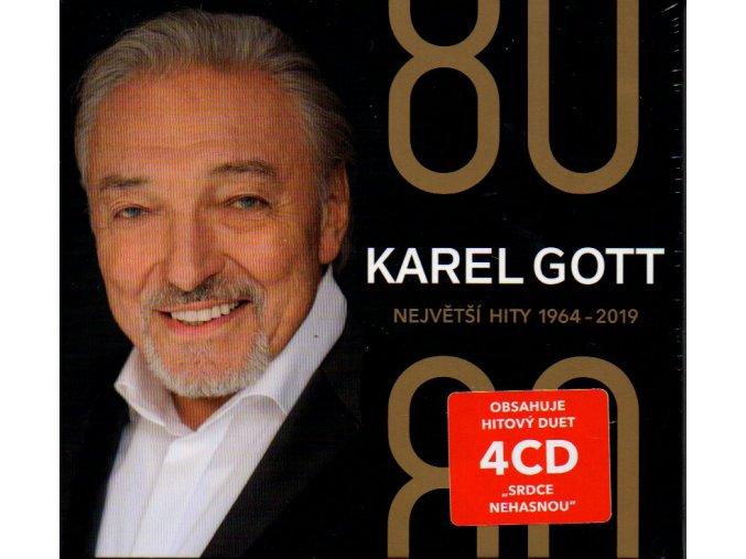 karel gott 80 největší hity 1964 2019 4 cd
