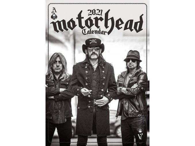 motorhead kalendář 2021 a3
