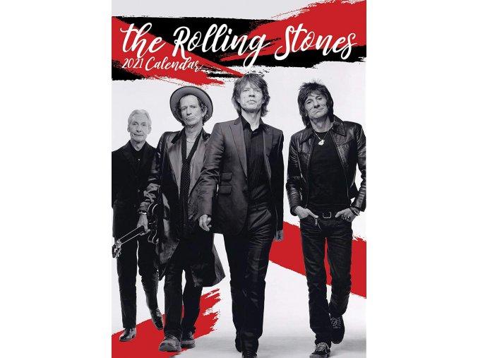 rolling stones kalendář 2021 a3
