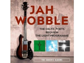 JAH WOBBLE - THE CELTIC POETS / REQUIEM / THE LIGHT PROGRAMME: THE 30 HERTZ ALBUMS ~ 3CD REMASTERED EDITION (Music CD