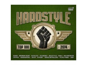 Various Artists - Hardstyle Top 100 2014 (Music CD)