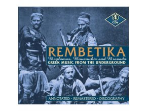Various Artists - Rembetika: Greek Music From The Underground (Music CD)