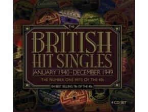 Various Artists - British Hit Singles January 1940 - December 1949 (Music CD)