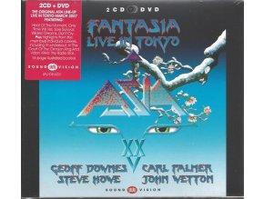 Asia: Fantasia (Live in Tokyo) - 2 CD + DVD