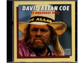 David Allan Coe: 17 Grestest Hits (CD)