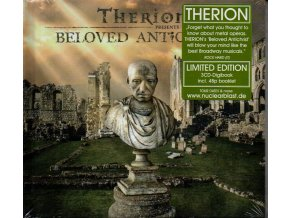 3 cd therion beloved antichrist limited edition