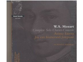 43154 w a mozart complete solo clavier concerte 10 cd box