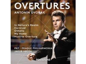 Antonín Dvorák: Overtures (Music CD)