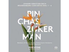 Bach: Brandenburg Concertos Nos. 1-6 [SACD] (Music CD)