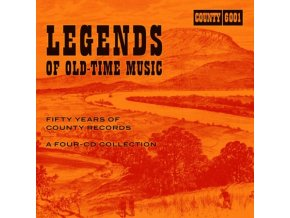 Various Artists - Legends of Old-Time Music (Fifty Years of County Records) (Music CD)