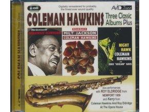 Coleman Hawkins - Three Classic Albums (Bean Bags/The Genius of Coleman Hawkins/Night Hawk/Remastered) (Music CD)