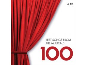 Various Artists - 100 Best Songs from Musicals (Music CD)