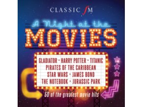 Various Artists - A Night At The Movies (Music CD)