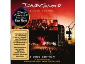 David Gilmour - Live In Gdansk (2 CD & 2 DVD) (Music CD)