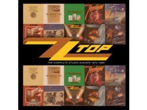 ZZ Top - The Complete Studio Albums 1970-1990 (10 CD Box Set) (Music CD)