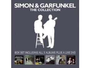 Simon And Garfunkel - The Collection (5 Album Collection & Bonus DVD Boxset) (Music CD)