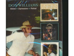 Don Williams - Visions/Expressions/ Portrait (Music CD)